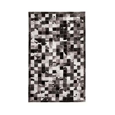 Barcelona Cowhide Black/White Area Rug