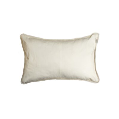 Allura Rectangular Sheepskin Lumbar Pillow Color: Natural