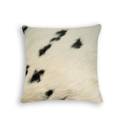 Graham Naturally Soft Leather Throw Pillow