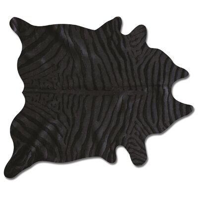 Grady Handmade Black Rug