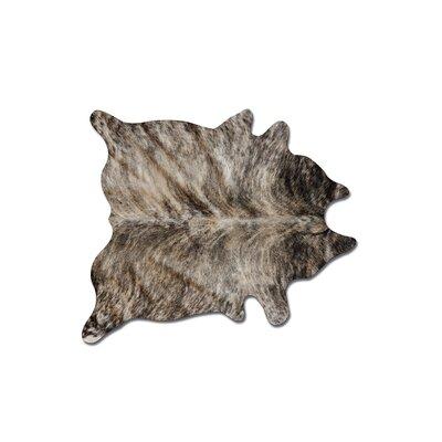 Abhinav Hand Woven Exotic Zebu Cowhide Area Rug