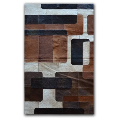 Nostaligia Cowhide Area Rug Rug Size: Rectangle 5 x 8