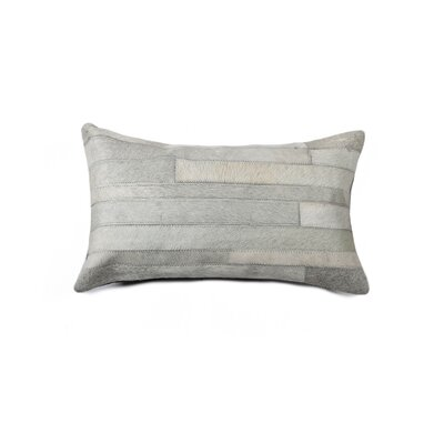 Sarthak Rectangle Cowhide Throw Pillow