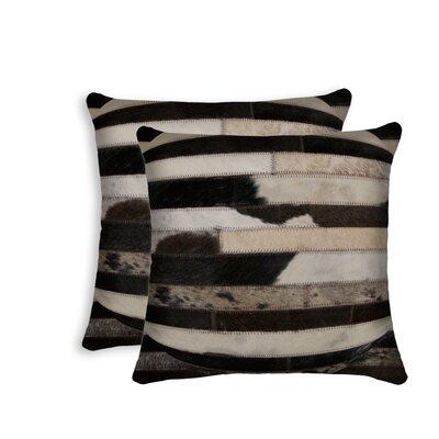 Sarthak Leather Throw Pillow