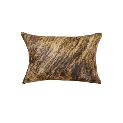 Graham Natural Cowhide Lumbar Pillow