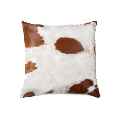 Graham Cowhide Throw Pillow