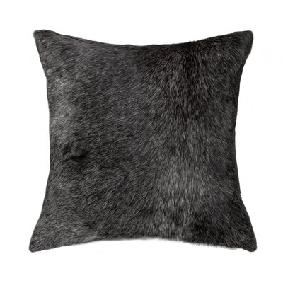 Graham Classic Large Hand Woven Leather Throw Pillow