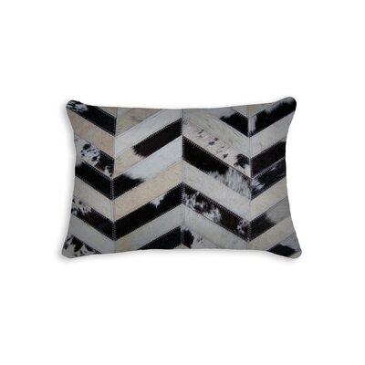 Graham Chevron Lumbar Pillow Color: Tricolor