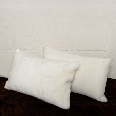 Allura Sheepskin Lumbar Pillow