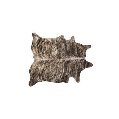 Abhinav Hand-Woven Cowhide Exotic Zebu Area Rug
