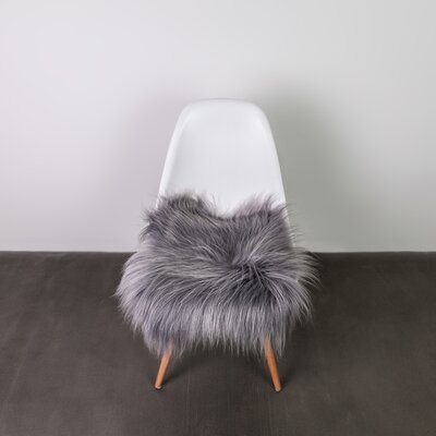Dining Chair Cushion Fabric: Gray Brisa