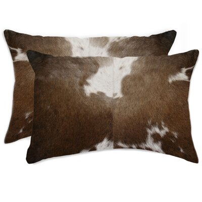 Graham Rectangular Leather Lumbar Pillow