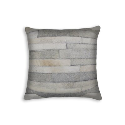 Graham Throw Pillow Color: Grey