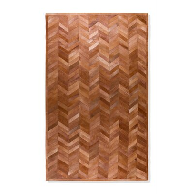 Parquet Cowhide Rug Rug Size: Rectangle 5 x 8