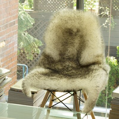 Handmade Gradient Grey Area Rug Rug Size: 2 x 3