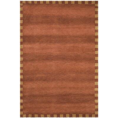 Rust Rug Rug Size: 5 x 76