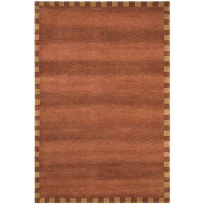 Rust Rug Rug Size: 6 x 9