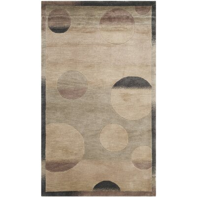 Luner Wool Beige Area Rug Rug Size: Rectangle 4 x 6