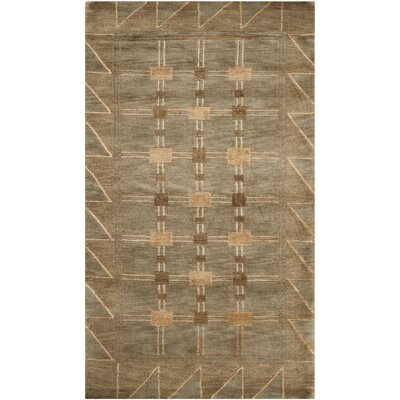 Balance Wool Brown Area Rug Rug Size: Rectangle 6 x 9