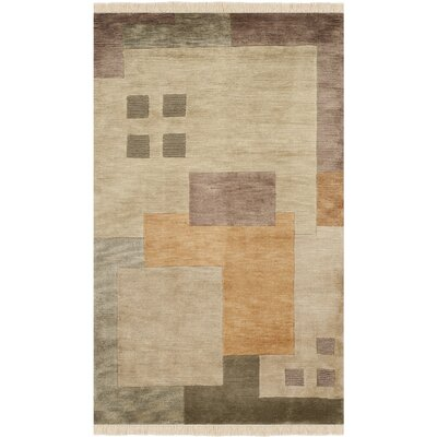 Ventura Wool Beige Area Rug Rug Size: Rectangle 6 x 9