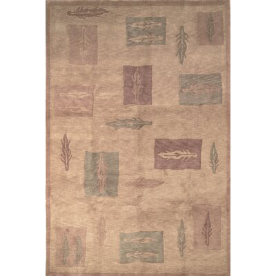 Autumn Beige Area Rug Rug Size: Rectangle 5 x 76