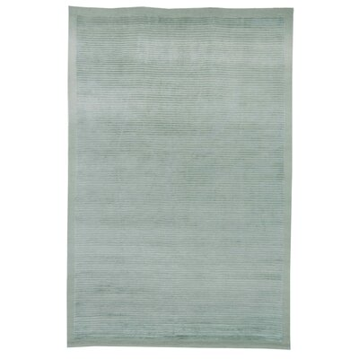 Light Green Area Rug Rug Size: Rectangle 6 x 9
