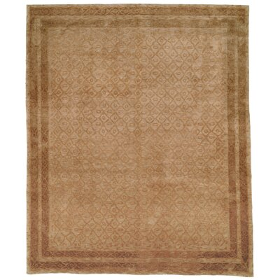 Diamond Eye Sage/Gold Area Rug Rug Size: 6 x 9