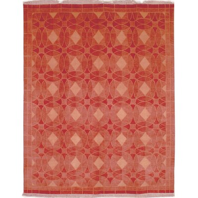 Plum Rust Area Rug Rug Size: Rectangle 4 x 6