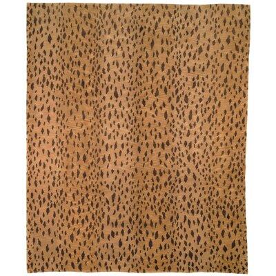 Leopard Print Rug Rug Size: Runner 26 x 12