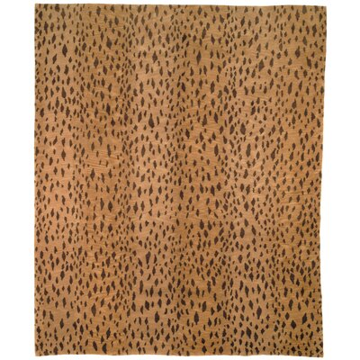 Leopard Print Rug Rug Size: Rectangle 4 x 6