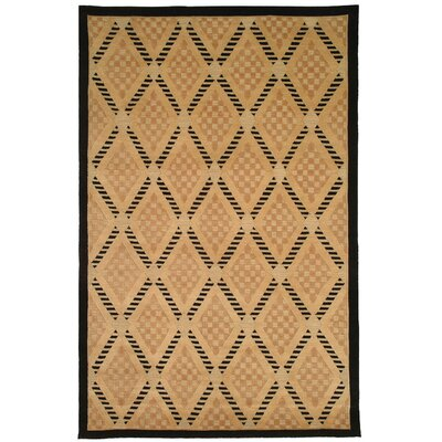 Brown Area Rug Rug Size: 5 x 76