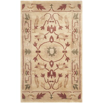 Tan Area Rug Rug Size: Rectangle 10 x 14