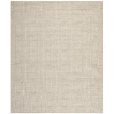 Grid Khakie Area Rug Rug Size: 3 x 5