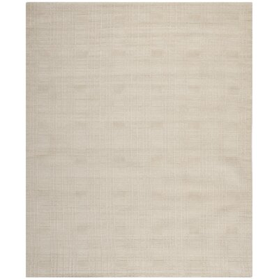 Grid Khakie Area Rug Rug Size: Rectangle 4 x 6