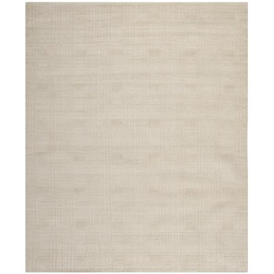 Grid Khakie Area Rug Rug Size: Rectangle 5 x 76