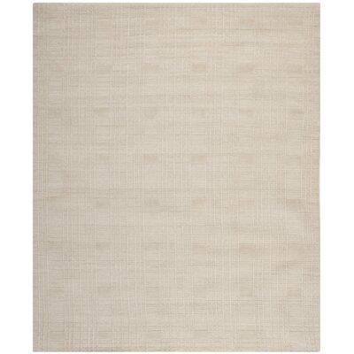 Grid Khakie Area Rug Rug Size: Rectangle 5 x 76