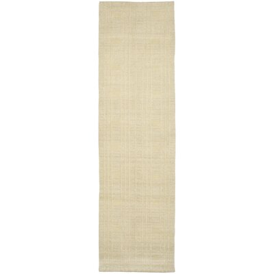 Grid Khakie Area Rug Rug Size: Runner 26 x 12