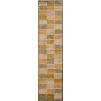 Patchwork Area Rug Rug Size: Runner 26 x 10