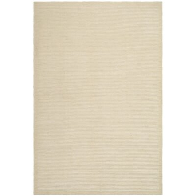 Velvet Straw Beige Area Rug Rug Size: Rectangle 5 x 76
