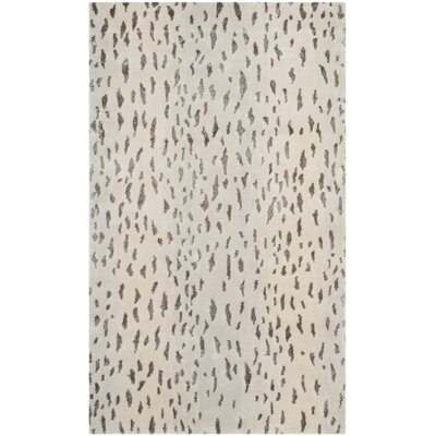 Knotted Indoor Area Rug Rug Size: Rectangle 4 x 6