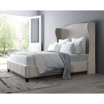 Rodrigue Upholstered Platform Bed Size: King