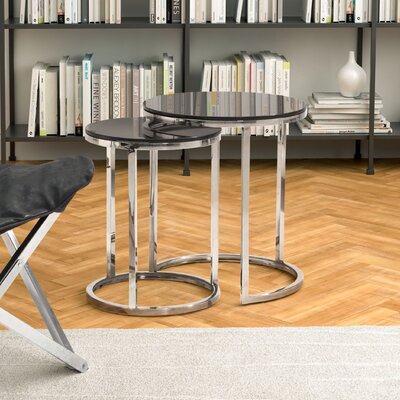 Porterfield 2 Piece Nesting Table Set