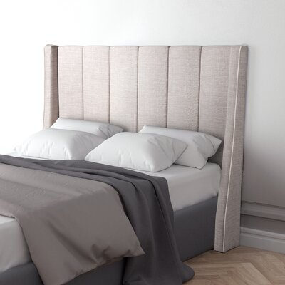 Odina Full Upholstered Wingback Headboard