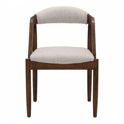 Berlin Side Chair Upholstery: Beige