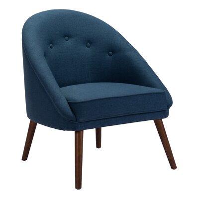 Bernardston Occasional Barrel Chair Upholstery: Cobalt Blue