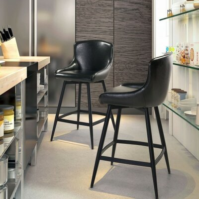 Francesca 26.6 Swivel Bar Stool