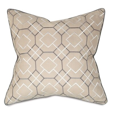 Throw Pillow Color: Granite