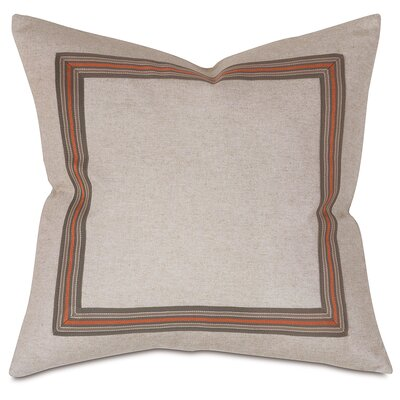 Border Throw Pillow Color: Autumn
