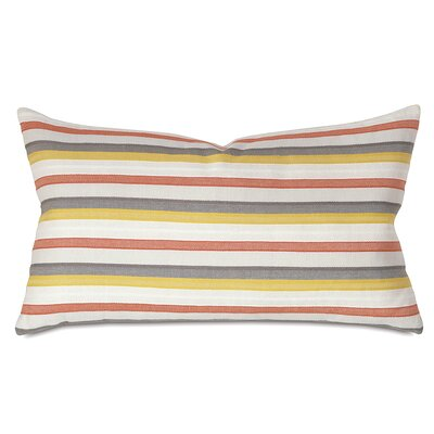 Kerin Cotton Lumbar Pillow Color: Autumn