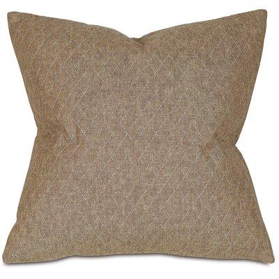 Bowen Throw Pillow Color: Brown